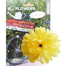 Basil Flower Dahlia För styre och stam yellow